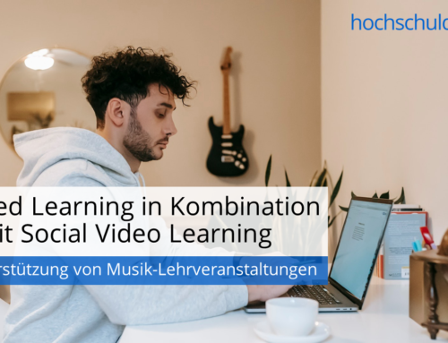 Blended Learning in Kombination mit Social Video Learning – zur Unterstützung von Musik-Lehrveranstaltungen
