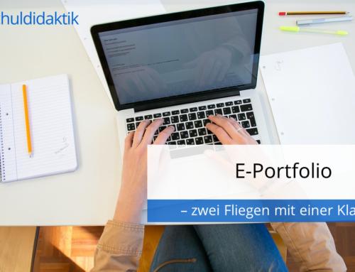 E-Portfolio – zwei Fliegen mit einer Klappe!